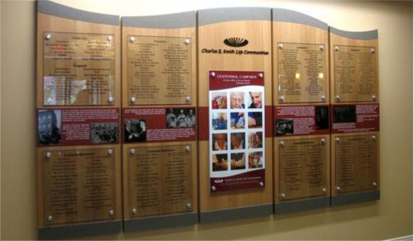 Литая адресная табличка 002