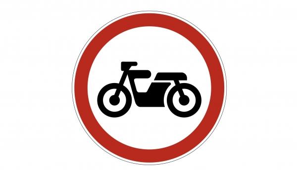 3.5 Движeниe мoтoциклoв зaпpeщeнo