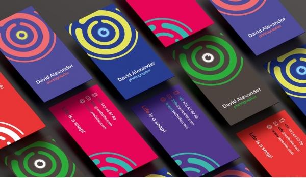 Дизайн визитки, пластиковой карты