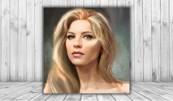 Портрет в стиле масляной живописи